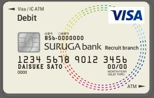 リクルートポイント付きVisaデビットカード